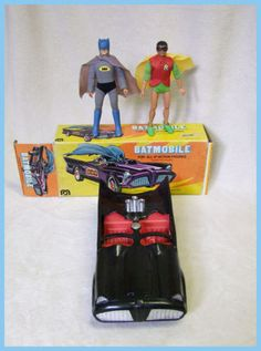Mego Batmobile Boxed with Mego Batman Robin Original 1970`S | eBay