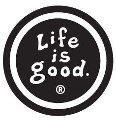Mandatory Life is Good sticker.
