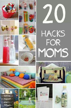20 Hacks for Moms