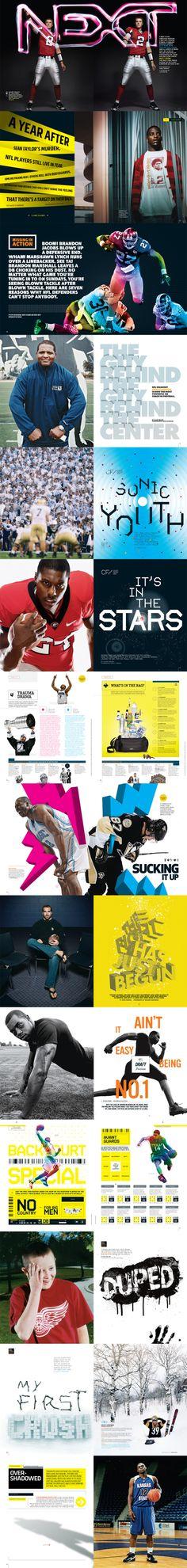 Various ESPN Spreads / Lou Vega