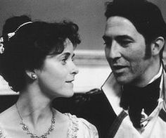 Amanda Root (Anne Elliot) & Ciarán Hinds (Captain Frederick Wentworth) - Persuasion directed by Roger Michell (1995) #janeausten #fanart