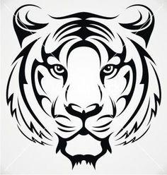 Tribal Tiger Tattoo Google Search Ideas Tiger Tattoo Tiger