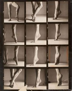 Richard Avedon (American, 1923–2004)  Rudolf Nureyev's Calf, mid-20th century  Gelatin silver print