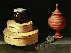 "Juan van der Hamen y Leon ~ ""Still Life with Boxes of Sweets"", 1621"