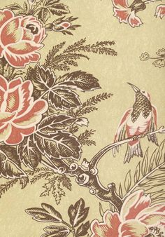 Lewis & Wood - Muscat Vintage Classic Wallpaper in Quince