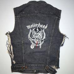 A personal favorite from my Etsy shop https://www.etsy.com/listing/466763744/vintage-motorhead-custom-made-denim-vest