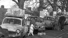 DDR-Autos im November 1989 in Gießen
