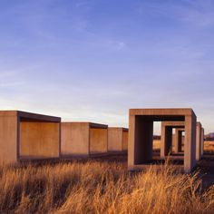 Donald Judd, 15 Untitled Works in Concrete (Chinati Foundation, Marfa, Texas) on ArtStack #donald-judd #art
