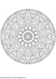 Coloring Pages Special Mandala 277