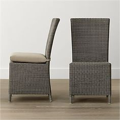 Captiva Grey Dining Chair and Cushion