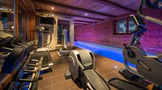 Get Some Cardio Work Out or Swim in This Swiss Alps Chalet for Rental