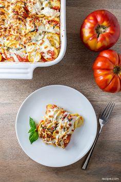 Light and Fresh Comfort Food: Squash and Tomato Casserole