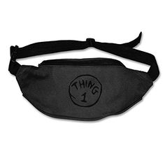 Classic Thing One Multi-functional Durable One-side Shoulder Bag Black Waist Pack, The One, Oxford, Hiking, Camping, Shoulder Bag, Zipper, Navy, Link
