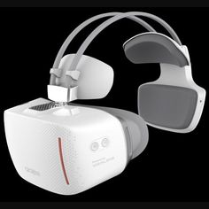 The #Vision virtual reality headset from Alcatel boasts an ergonomic design and doesn't require a smartphone or PC to work. #virtualreality #vr #headsets #ifa2016 #alcatel #gadgets #wireless #technology #tech #viatec Viatec.do