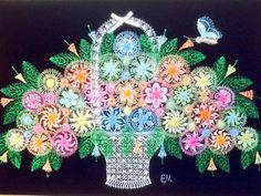 パラグアイの虹色のレース編み、ニャンドゥティの作り方の本! すべて作業がおわりましたー(^_−)−☆(^_−)−☆ 6月10日!発売日も決まりました〜〜 嬉しいです〜エレナ http://blog.livedoor.jp/nandy_elena/
