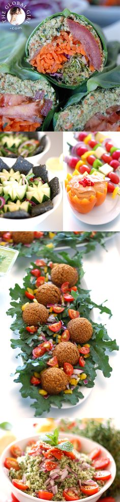 The healthiest way to satisfy your Middle Eastern food cravings. These 100% raw, vegan and gluten-free Middle Eastern recipes do double duty as taste-bud pleasers and beauty enhancers! http://theglobalgirl.com/raw-middle-eastern-recipes-vegan-gluten-free/