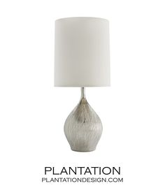 """Ridgely Porcelain Table LampSize: H: 31.5"""" • Dia: 13.5"""" (overall) 