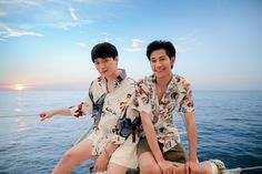 The kingdom of Krist ♚ Singto Pretty Boys, Cute Boys, Dance Emoji, Asian Love, Cute Gay Couples, Thai Drama, Drama Movies, Best Couple, Handsome Boys