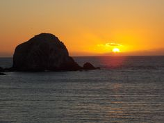 Algarrobo sunset, Chile.