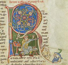 Passionary, Weissenau, Germany,12th century