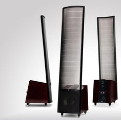 Introducing Montis, the latest evolution in the MartinLogan Reserve ESL Series. Following in the footsteps of our award-winning flagship hybrid ESL speaker, the Summit X™, Montis blends legendary sound with sophisticated styling. Years in the making, the Montis builds on a number of unique MartinLogan manufacturing techniques and materials ... [$9,995.00 per pair.]