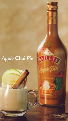 Fancy Drinks, Cocktail Drinks, Yummy Drinks, Cocktail Recipes, Alcoholic Drinks, Beverages, Fall Cocktails, Baileys Cocktails, Christmas Drinks