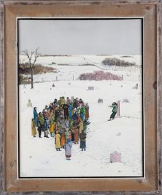Canadian Modern Art - Lest We Repent - William Kurelek