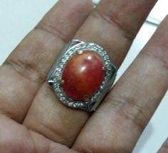 Cincin batu red borneo super