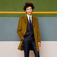 Paul Smith khaki Epsom Coat Just bought this....