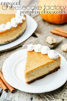 Copycat Cheesecake F
