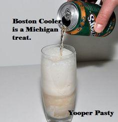Boston Cooler - Allrecipes.com   Drinks   Pinterest   Coolers, Boston and  Recipe