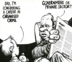 Funny pictures about I'm considering a career in organized crime. Oh, and cool pics about I'm considering a career in organized crime. Also, I'm considering a career in organized crime photos. Cute Jokes, Funny Jokes, Caricature, Humor Grafico, Cool Cartoons, Political Cartoons, Satirical Cartoons, Political Satire, Political Views