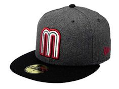 f5afd034842 New Era Men s 59fifty World Baseball Classic Mexico Hat Cap 2tone Gray Black  Review Hat