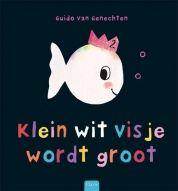 Klein wit visje wordt groot! Vandaag is het zijn tweede verjaardag. Iedereen mag naar zijn feestje komen: dikke en dunne, lange en korte, rechte en kromme, blije en verdrietige waterdieren. Een speels boek over tegenstellingen voor kinderen.