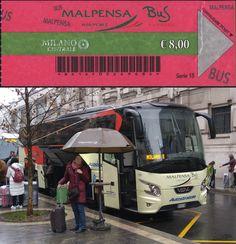 Malpensa airport bus/coach for €8