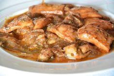 Βρείτε εύκολες συνταγές για φαγητά και γλυκά με υλικά που έχετε στην κουζίνα σας. Greek Recipes, Seafood Recipes, Food And Drink, Stuffed Peppers, Fish, Meals, Chicken, Cooking, Kitchen