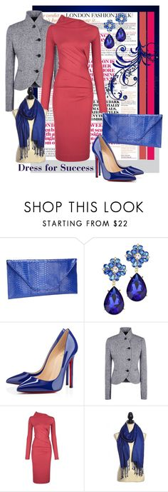 """Dress for Success"" by shoppe23online ❤ liked on Polyvore featuring Christian Louboutin, STELLA McCARTNEY, Vivienne Westwood Anglomania, longsleevedress, winteressentials and Shoppe23"