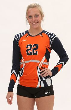 New for 2016 the Inferno Roxamation Sublimated Jerseys is a jersey of expression. Customize this Volleyball Uniform with our custom uniform designer in your team colors. Volleyball Uniforms, Volleyball Shorts, Volleyball Players, Volleyball Setter, Corpo Sexy, 4x4, Athletic Wear, Athletic Girls, Sport Photography