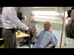 Tony can drink from his cup for the first time in 10 years thanks to treatment with ExAblate Neuro (video)