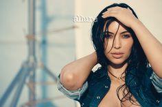 allure magazine photo shoot | Cette couverture illustre la beauté du « no make up look » !