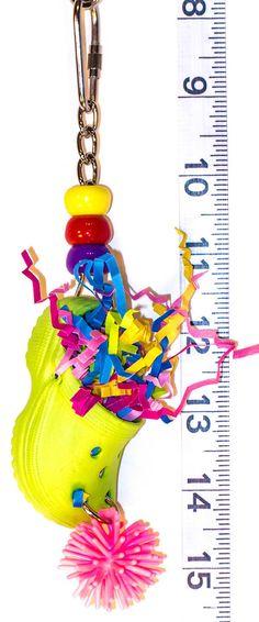Polly Crockett foraging bird toy  Parrot Toys & Bird by abirdtoy, $3.75