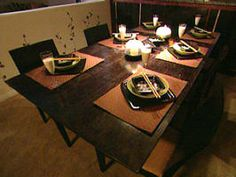 How to Build an Expandable Dining Room Table - on HGTV