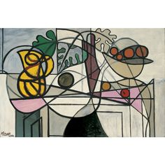 Pablo Picasso, Pitcher and Fruit Bowl, 1931