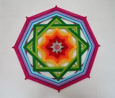 Mandalas Olho de Deus: Nova Mandala dos Chakras