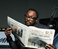 will.i.am - See why will.i.am makes time <br> to read The Wall Street Journal.