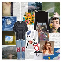 """""""i've been watching the night roll by"""" by gloomed ❤ liked on Polyvore featuring McGinn, Topshop, Nanette Lepore, Cheap Monday, By Terry, Windsor Smith and Harry Allen"""