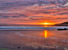 The forecast for the next eight days is calling for rain. I went back into my collection and found some sunsets from Santa Cruz that really cheered me up. Hope it cheers you up also !. I can't wait until we get some light and color again.