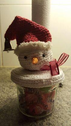 Sneeuwpop potje kerst...