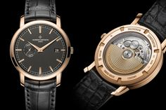 Vacheron Constantin Traditionelle Grey Dial Watch Collection