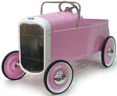 this is a TOY car.. you know the ones that toddlers paddle in